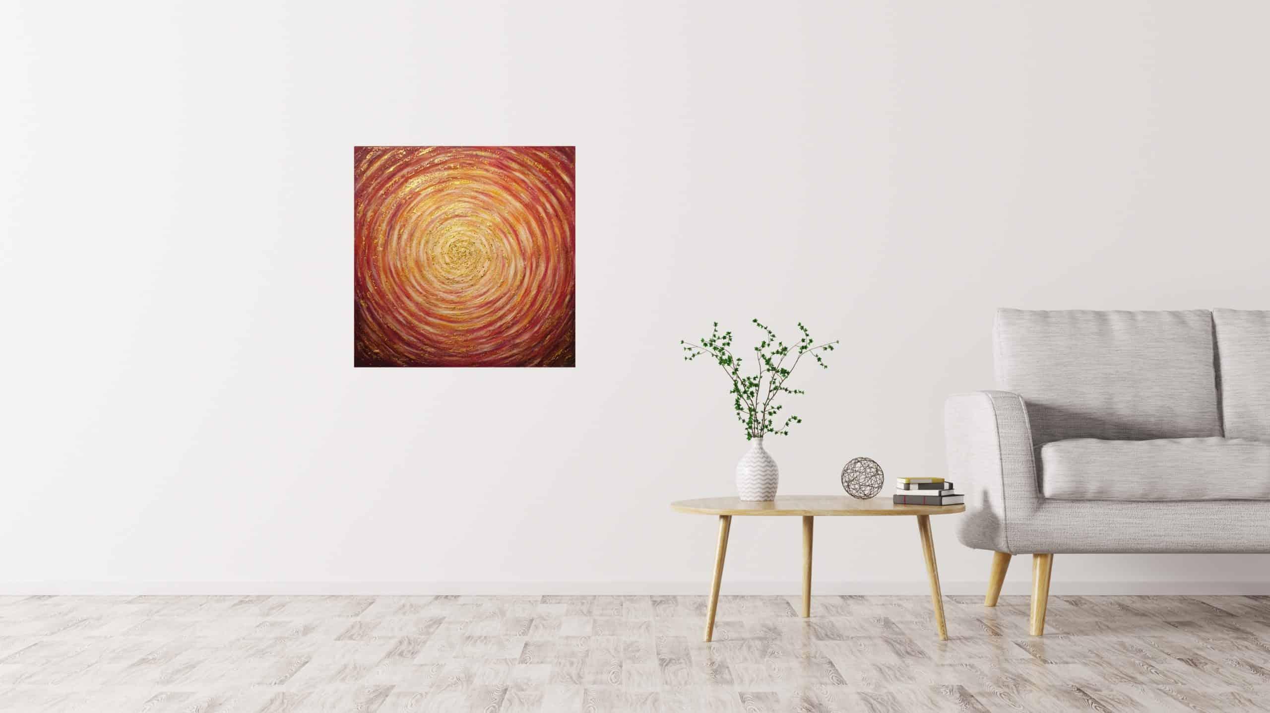 Golden Spiral in interior